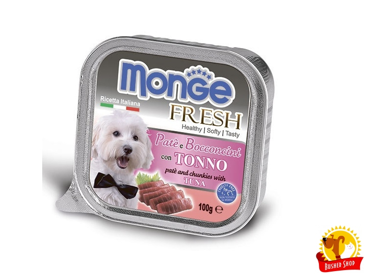 Monge Dog Fresh консервы для собак тунец 100 г