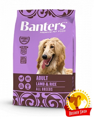Banters Dog Adult Lamb 3 Kg.