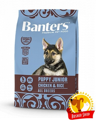 Banters Dog Puppy Chicken 15 Kg.