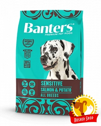 Banters Dog Sensitive Salmon & Potato 15 Kg