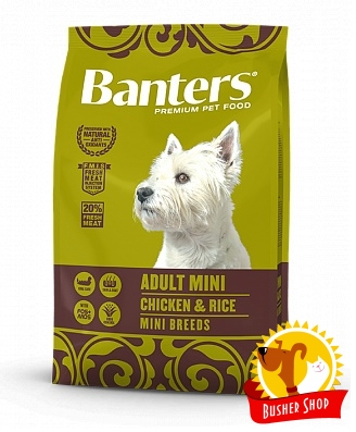 Banters Dog Adult Mini 3 Kg.