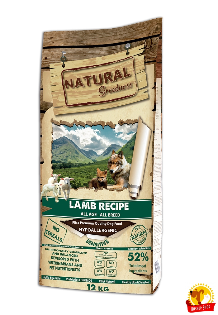 Natural Greatness Sensitive Lamb Recipe 12 kg