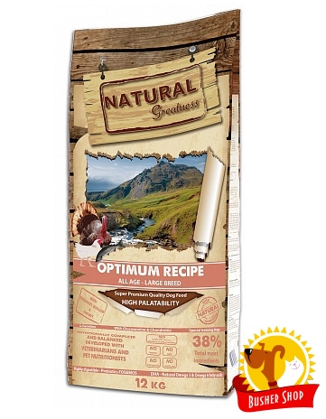 Natural Greatness Optimum Large Breed Recipe 12 kg
