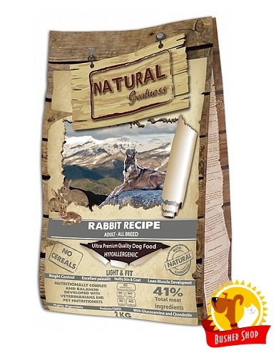 Natural Greatness Rabbit Light & Fit Recipe 2 kg