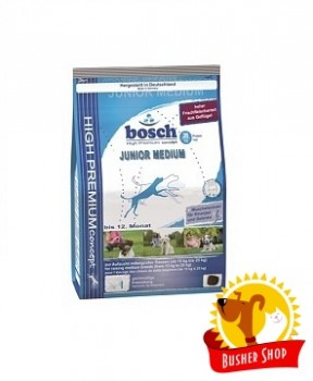 Корм для собак Bosch JUNIOR MEDIUM 15кг