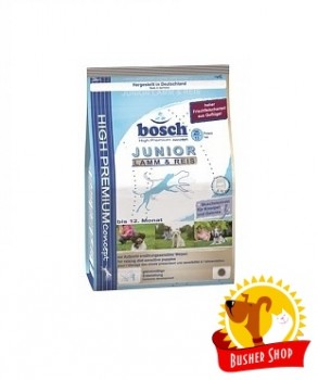 Корм для собак Bosch JUNIOR ягнёнок и рис 3кг