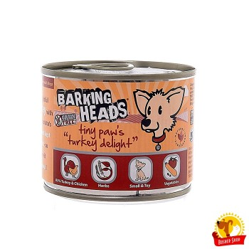 Barking Heads консервы для собак мелких пород с индейкой