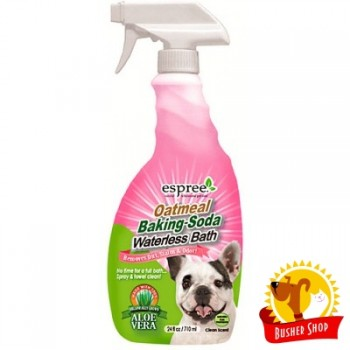 Espree OATMEAL BAKING SODA Waterless Bath - гипоаллергенный спрей для экспресс-чистки без воды для собак 710мл