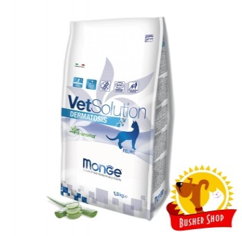 Monge VetSolution Cat Dermatosis диета для кошек Дерматозис 1,5 кг