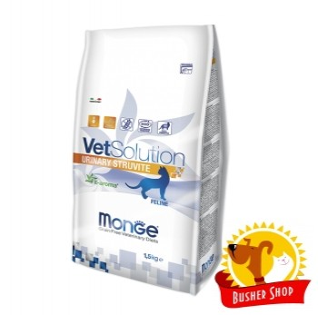 Monge VetSolution Cat Urinary Struvite диета для кошек Уринари Струвит 1,5 кг