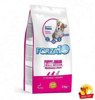 Forza 10 Puppy Junior S/M из рыбы 2 кг