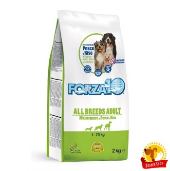 Forza10  All Breeds Adult Maintenance из Рыбы с Рисом 2кг