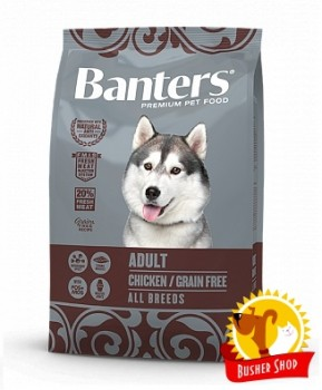 Banters Dog Adult Grain Free 15 Kg.