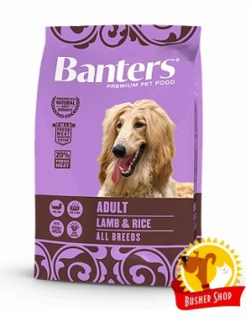 Banters Dog Adult Lamb 15 Kg.