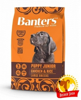 Banters Dog Puppy Large Breed 15 Kg.