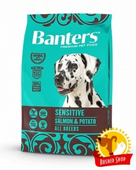 Banters Dog Sensitive Salmon & Potato 3 Kg.