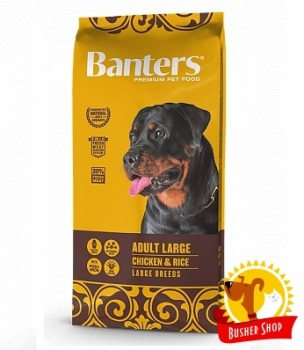 Banters Dog Adult Large Breed 15 Kg.