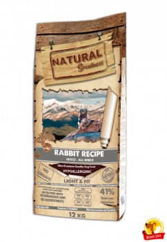 Natural Greatness Rabbit Light & Fit Recipe 12 kg