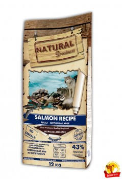 Natural Greatness Salmon Sensitive Recipe 12 kg