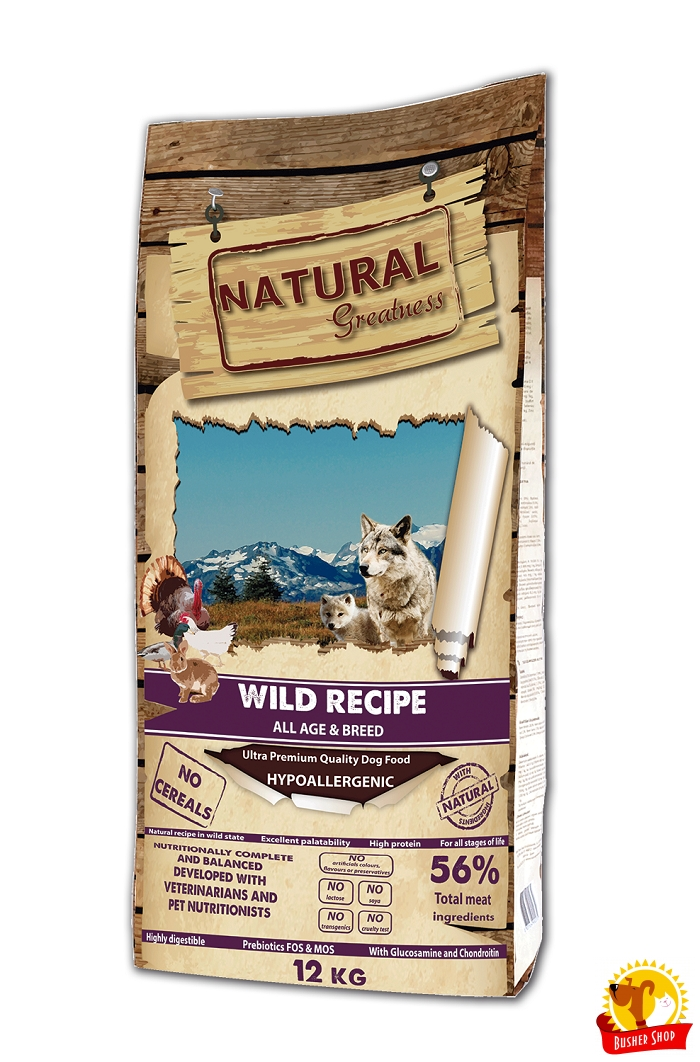 Natural Greatness Wild Recipe 12 kg